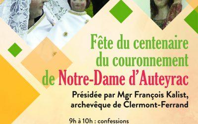 Centenaire Notre-Dame d'Auteyrac